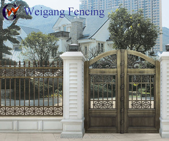 Wrought Iron House Main Gate Designs