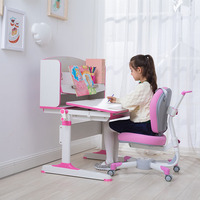 Height Adjustable Study Desk Children Table Kids Study Desk And Chair