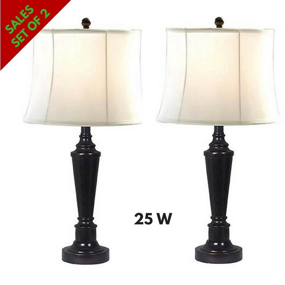 Get Quotations Table Lamps Metal For Living Room And Bedroom End Sofa Side