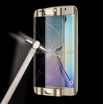 3d Curved Mirror Tempered Glass Screen Protector For Samsung Galaxy S6 Edge  Plus S7 Edge Note 7 4g Full Cover Phone Cases Film - Buy Note 7 Tempered