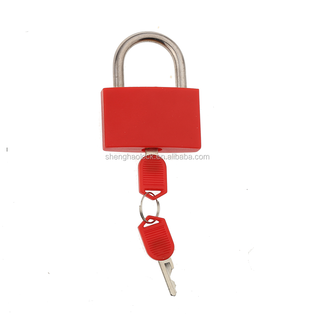 CH-CX03 colorful ABS keyed brass 40mm padlock