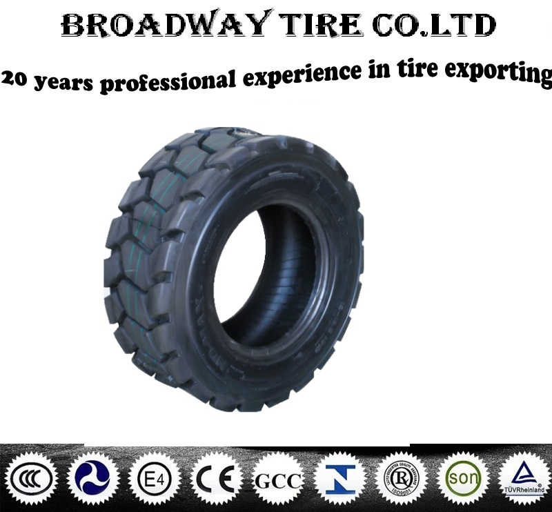 Armour no direction forklift tire 10-16.5 12-16.5 ece doc tyre