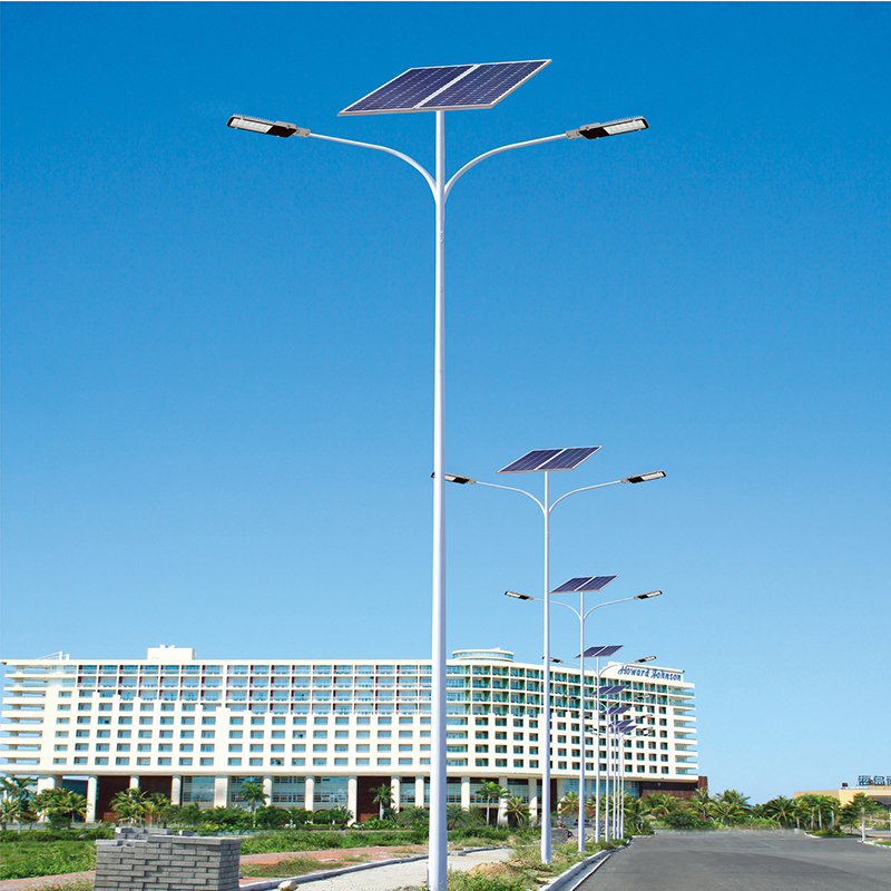 Outdoor 30 Watt 40 Watt Solar Street Lights Luminary With pole