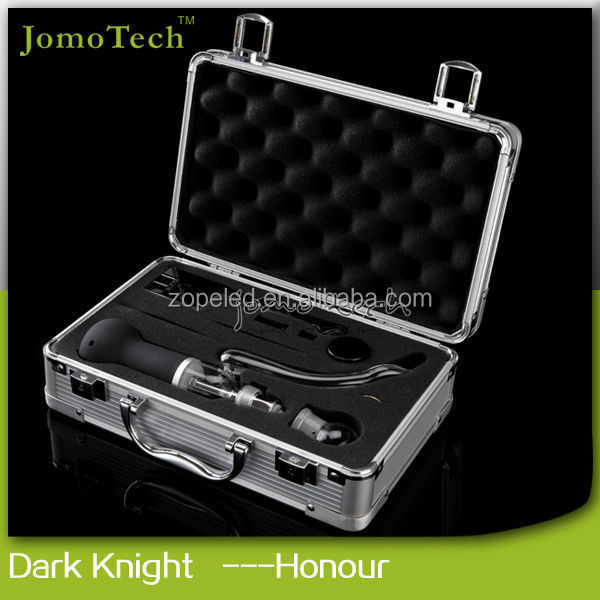 Best selling products Meth Vaporizer glass crack pipe dry herb vaporizer dark knight