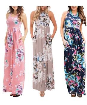 97c7ce0502 African Print Dress Girls beach party wear dress floral tea party dress