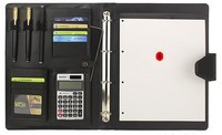 The Manager Folder And Multifunctional Leather Portfolio With Portable Souce For Business