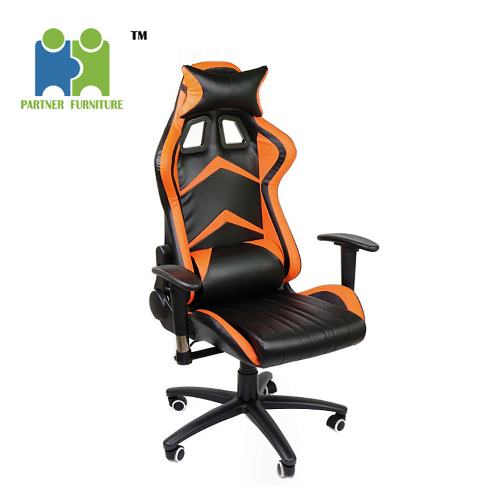 (TEMBIN) Stable swivel sport leather computer chair office gaming chair