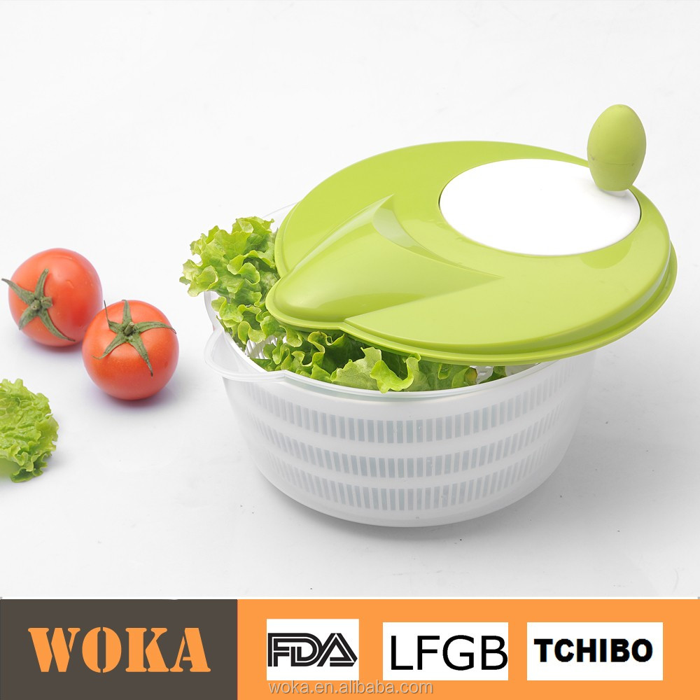 Hot Selling Amazon PP Plastic Vegetable Spinner Salad Spinner with Storage