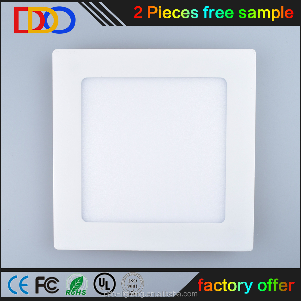 12w led panel square ceiling light 20x20 with very competitive price
