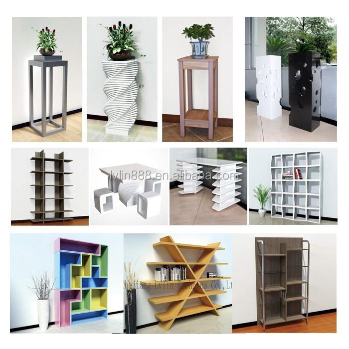 Hogar muebles madera estanter a de madera para living room for Muebles bibliotecas para living