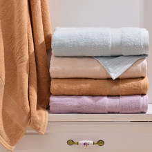 34x76cm 4pcs/lot Solid 100% Cotton Home Hand Towel Set,Quick-Dry Set of Decorating Bathroom Salon Face Terry Hand Towels