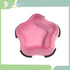 New invention hot sales high quality star shape pet bowl