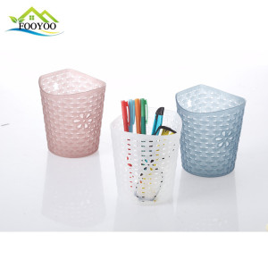 FY-993 plastic storage box desktop organizer High Quality Pencil Holder pen cup