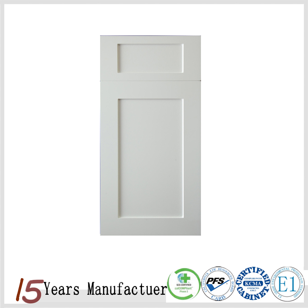 Foshan Furniture American Wooden Shaker Style Kitchen Cabinet Door