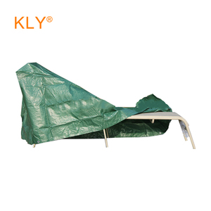 Family outdoor furniture cover against dust and water loungers