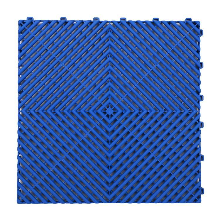 Strength car garage floor grate plastic modular interlocking tiles PVC garage floor tiles