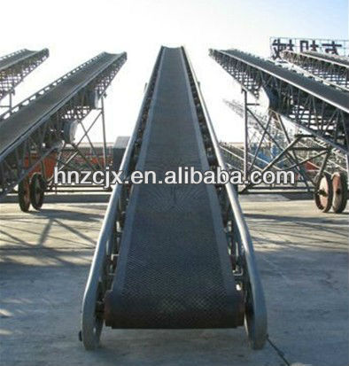 High quality flap top chain conveyor by henan zhongcheng