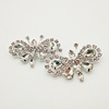 rhinestone butterfly wholesale brooch/shiny crystal brooch/butterfly brooch pin for wedding invitations