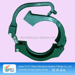 Highly recommended durable safe quick connect pipe clamp
