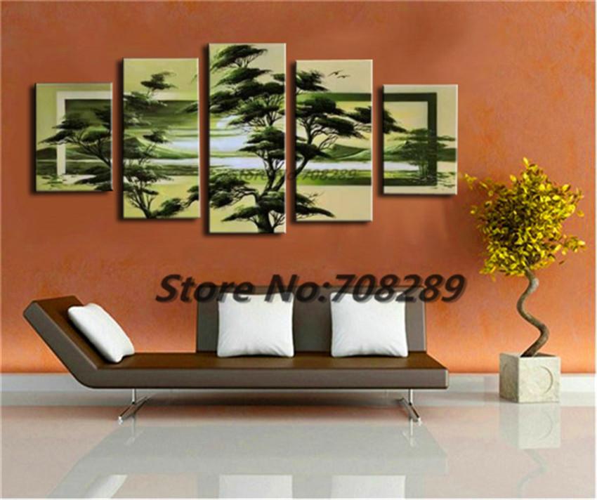 Aliexpress.com : Buy Scenery Green Tree Large Size HAND