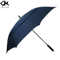High quality fashion auto open fabric frame 27inches promotion golf umbrella