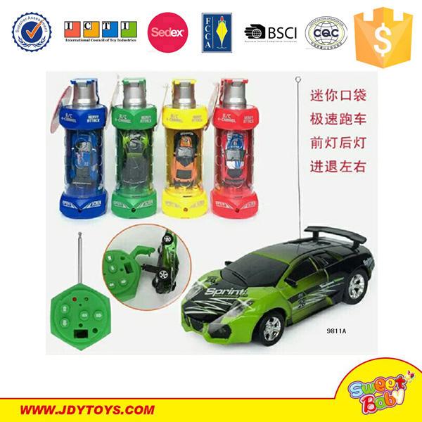 Multicolor Coke Car Mini Speed RC Radio Remote Control Micro Racing Car Toy kW Kinderfahrzeuge