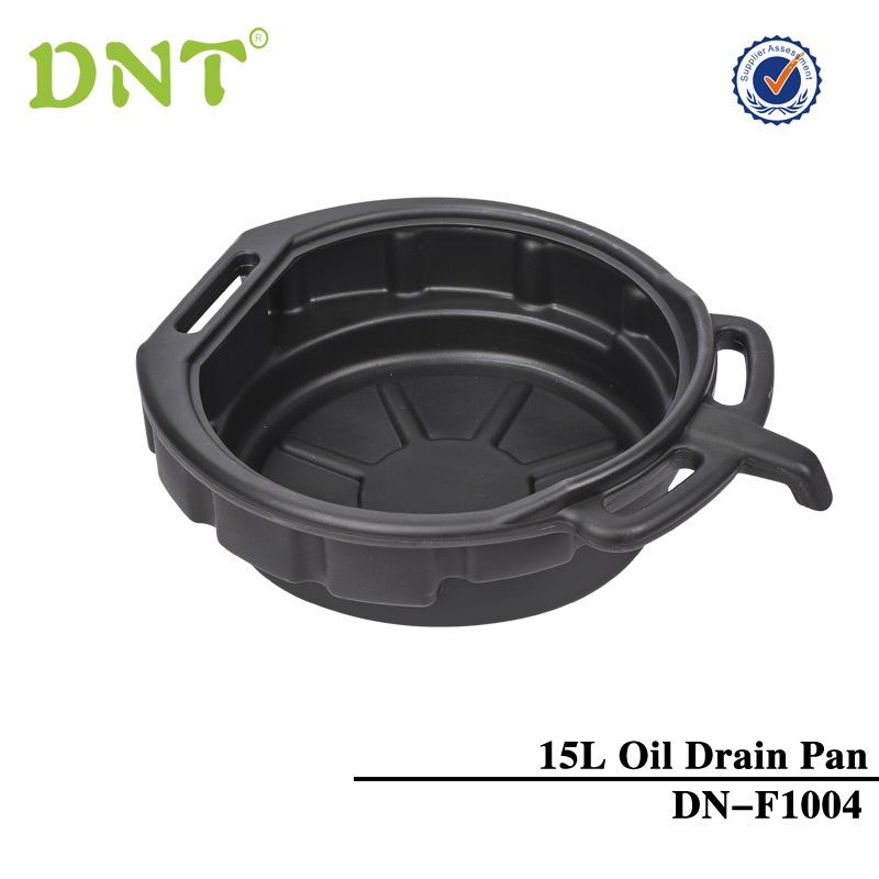 HIGH QUALITY 15 LITRE OIL DRAIN PAN TRAY WITH POURING LIP