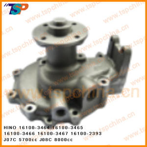 Water pump for HINO Truck engine cooling system part 16100-3464