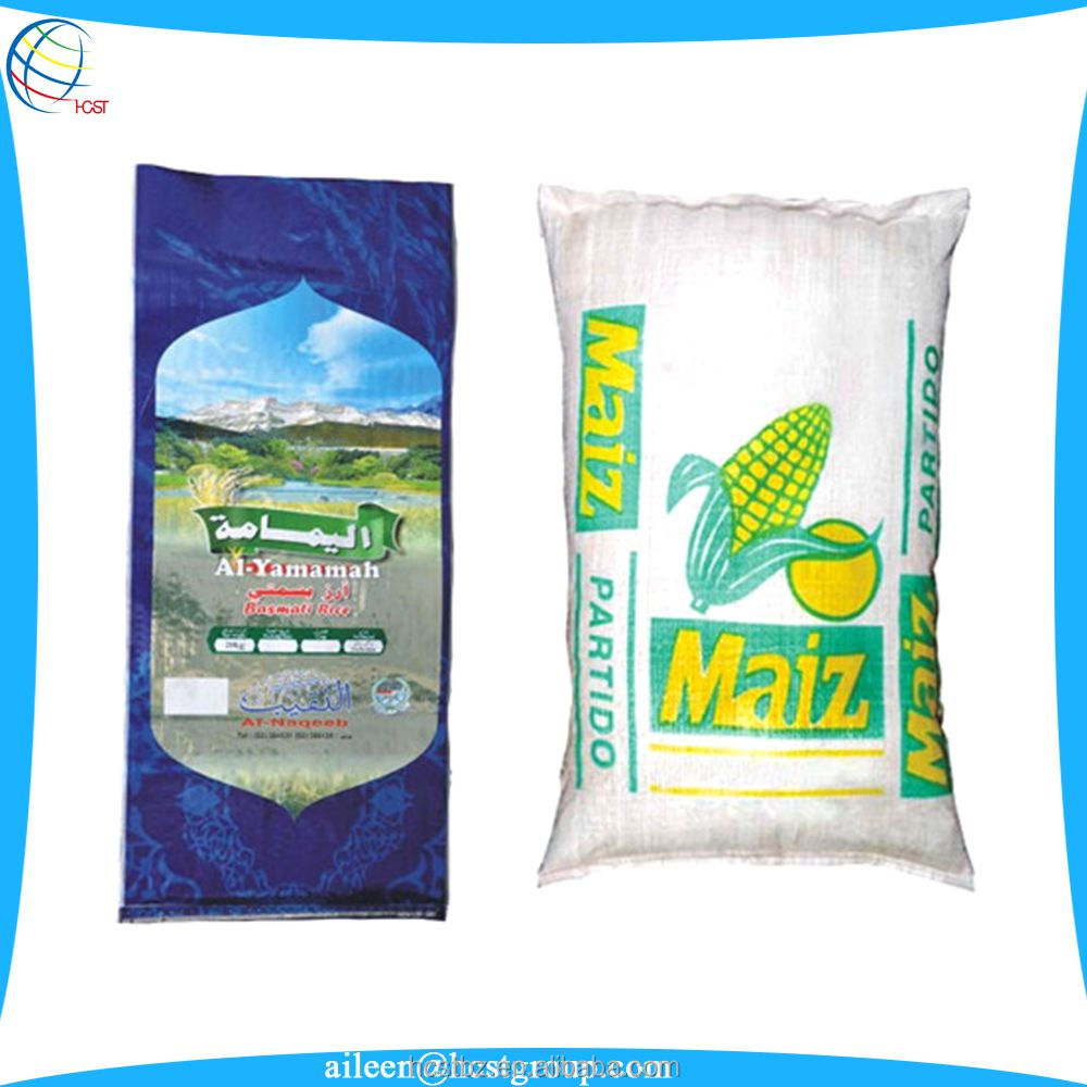 high quality promotional 50 pounds flour bag packaging bag