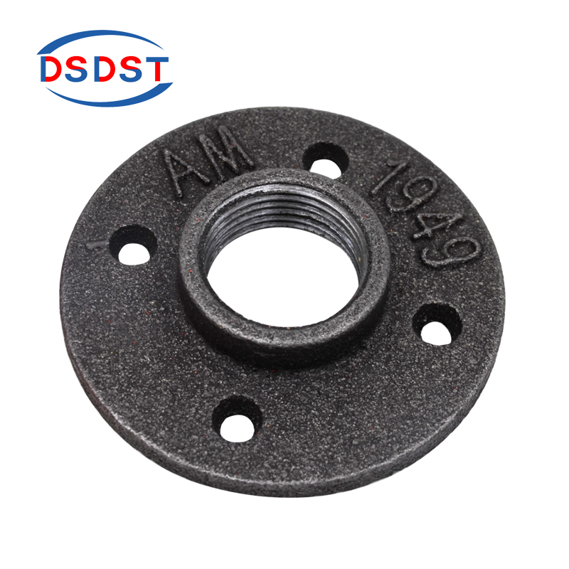 Black Malleable Iron Threaded Floor Flanges, Black Malleable Iron Threaded Floor  Flanges Suppliers And Manufacturers At Alibaba.com