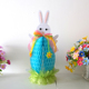 37.5CM blue paper honeycomb easter bunny