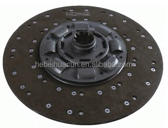 Heavy Man truck spare parts truck clutch driven disc/clutch plate 1878634027