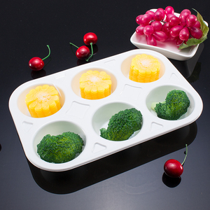 Custom heat resisting CPET blister plastic microwave food ovenable packaging tray for egg tart bakery plastic cupcake tray