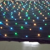 Used stage curtains for sale backdrop star light cloth, twinkling stars LED curtain
