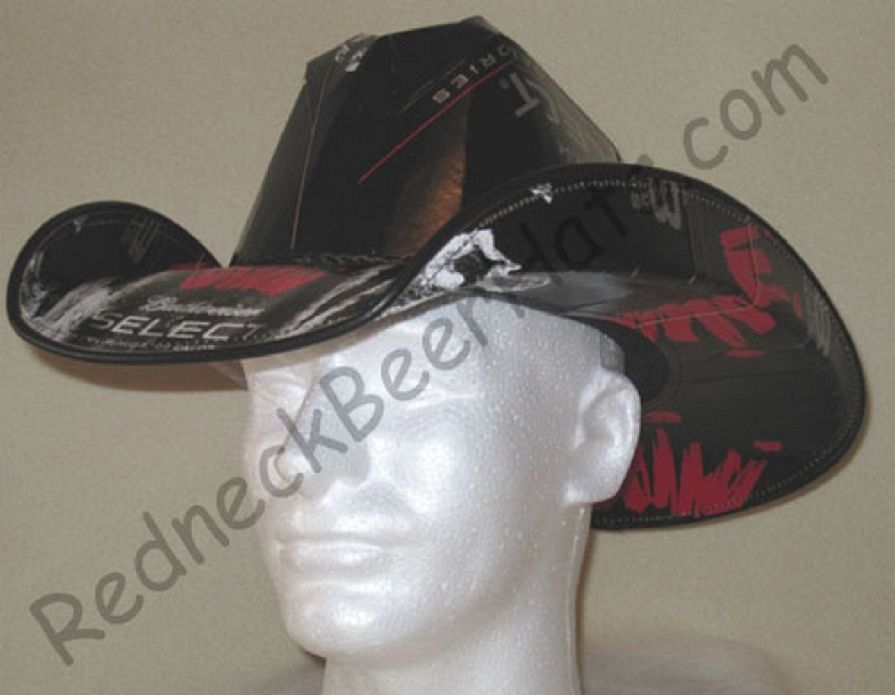 Buy Beer Box Cowboy Hat Made From Recycled Bud Select Boxes in Cheap ... dae83425ec58