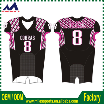 a517055d2 New Style Custom Full Sublimation American Football Jerseys