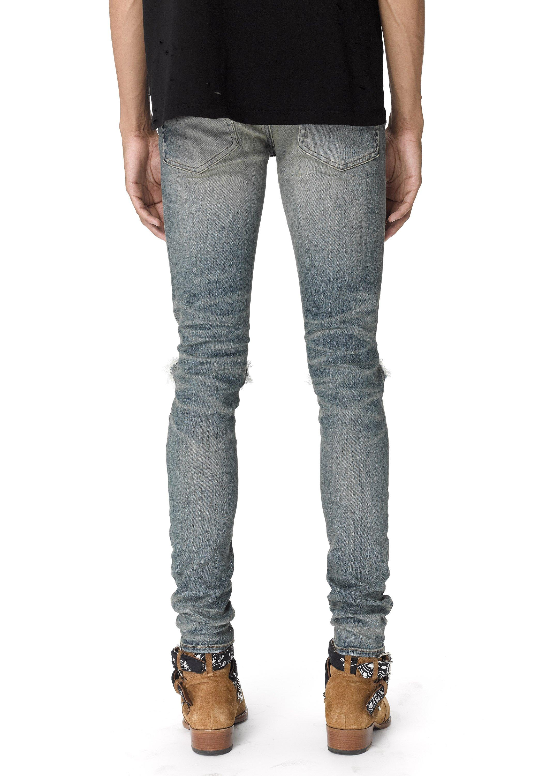 OEM custom manufactures of cheap new style bulk wholesale ripped jeans men
