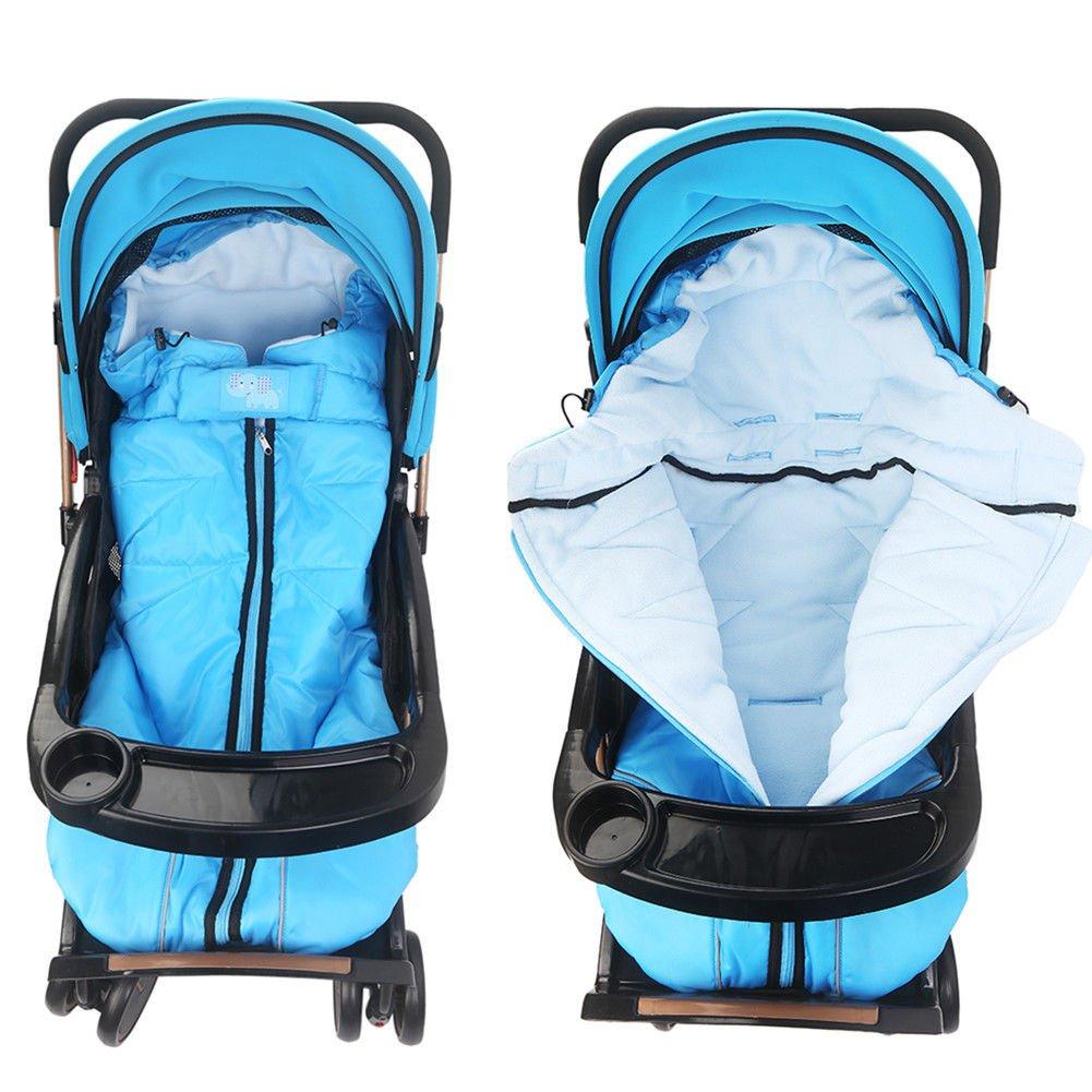 Winter Outdoor Waterproof Baby Infant Stroller Sleeping Bag Warm Footmuff