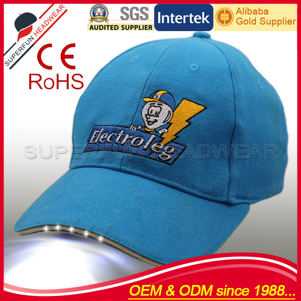 New design children wholesale LED caps and hats