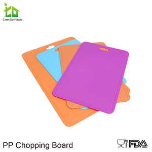 Great flexible and pp cutting board mini index chopping board