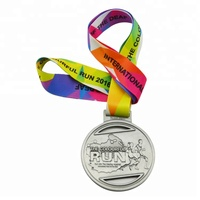 Longzhiyu 12years Manufacturer Custom Zinc Alloy 3d Sports Metal Medal Marathon Running Race Award Medals Supplier Fast Delivery