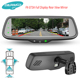 7.2'' Full LCD Display 4 Cameras Electronic Rear View Mirror Special for Van, Motorhome Vauxhall Movano/VIVARO