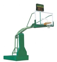 Professional indoor movable manual hydraulic basketball stand