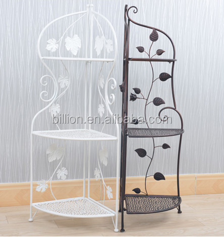 etagere d 39 angle fer forge pas cher. Black Bedroom Furniture Sets. Home Design Ideas