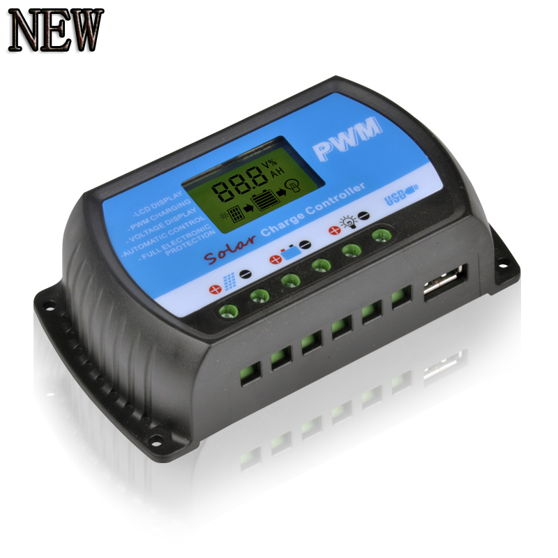 Aliexpress Com Buy Pwm Solar Charge Controller Usb 20a