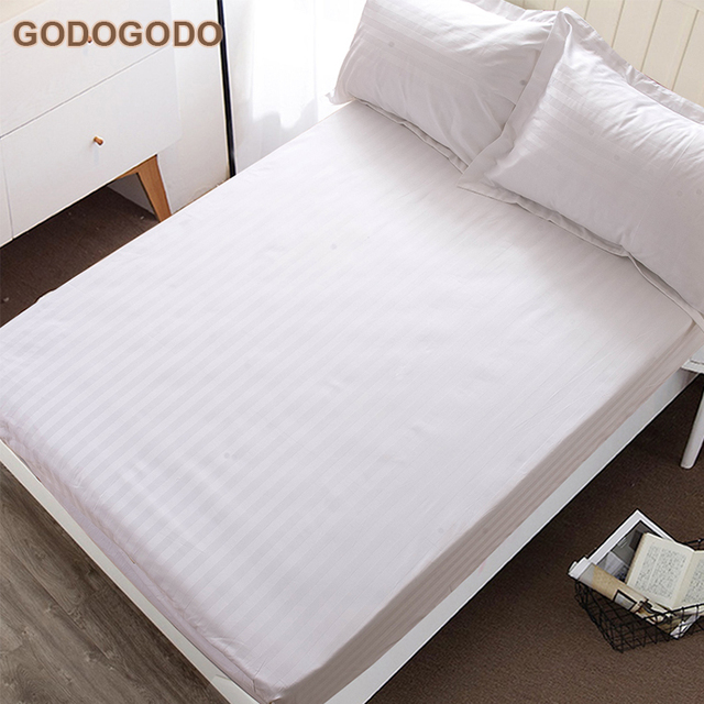 Factory Custom Size 50% Cotton 50% Polyester Hospital Bedding Set 4Pcs Bed  Sheet Bedding