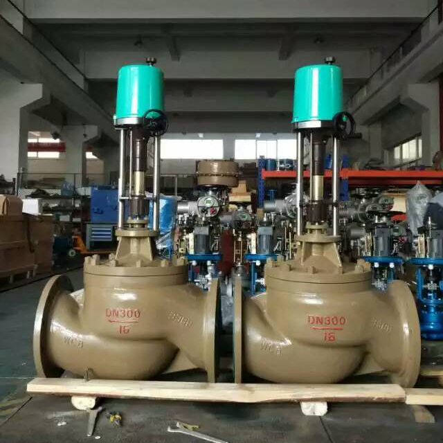 China made cheap price high quality equal percentage motorized 3 way gas regulator control valve