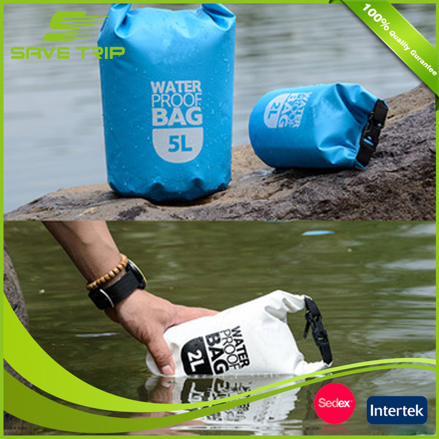 China Factory Lead Quality Durable Waterproof Water Proof PVC Dry Bag for swiming, hiking, boating