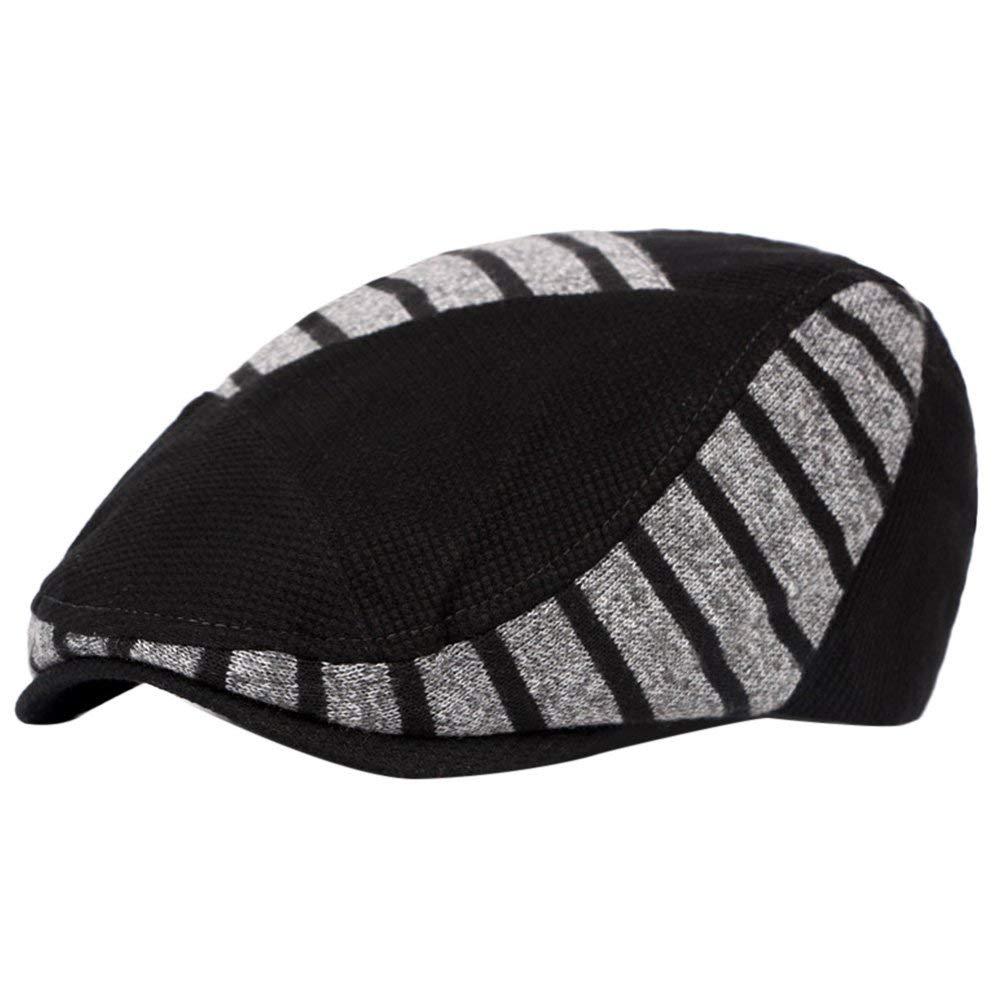 59beaacbdf23a Get Quotations · Zhuhaitf Mens Flat Cap Ivy Caps Hunting Warm Hats Driver  Hat Headwear 4203