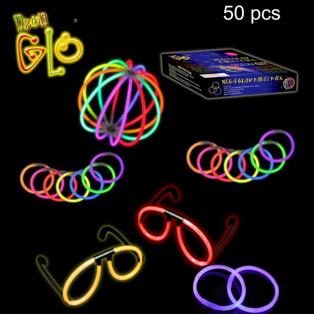 Lichtspielzeug Party Favors 50 Stück Glow Stick Party Pack